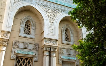Jumeirah Mosque in Dubai, traditional and intricate architecture