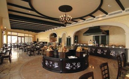 Palm Tree CourtJebel Ali Dubai restaurant large indoor dining room
