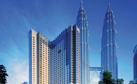 Mandarin Oriental Kuala Lumpur city two towers skyrise city views