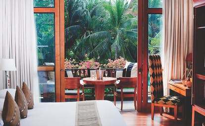 Anantara Hua Hin Thailand lagoon room balcony private outdoor seating area