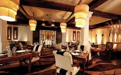 Anantara Hua Hin Thailand restaurant indoor dining area modern décor