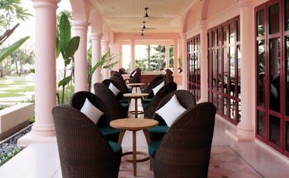 Centara Grand Beach Resort Thailand restaurant terrace outdoor dining area