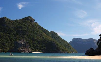 Six Senses Samui Thailand Gulf of Thailand excursion wooded mountains sea beach