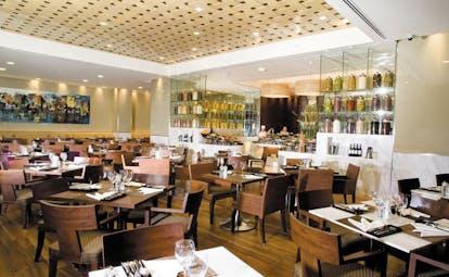 Caravelle Hotel Vietnam restaurant Nineteen indoor dining room modern decor