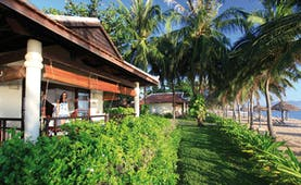 Evason Ana Mandara Resort Vietnam beachfront villa with garden and beach view