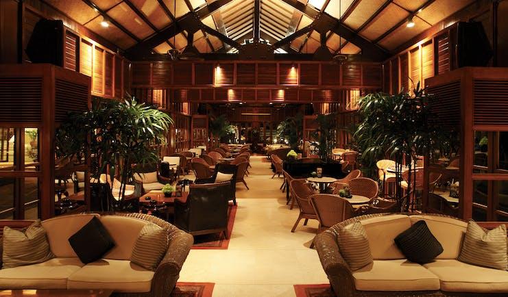 Furama Resort Vietnam lounge indoor communal seating area sofas authentic décor