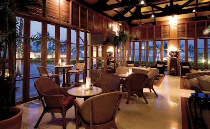 Furama Resort Vietnam restaurant indoor dining area authentic décor