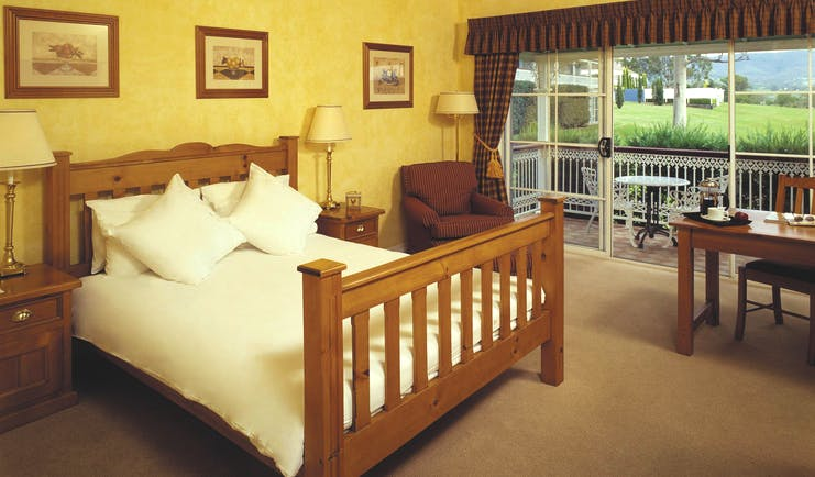 Sebel Kirkton Park New South Wales deluxe bedroom with balcony
