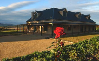 Abbotsford Country House South Australia exterior hotel building with wraparound porch