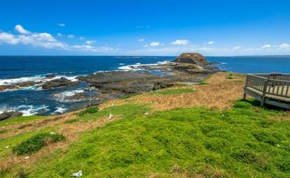 Phillip Island coastal area, sea, coastline