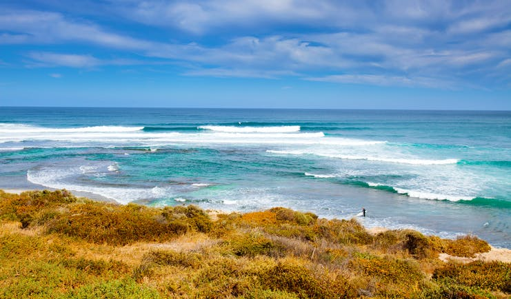 Margaret River beach, surf, waves, Western Australia