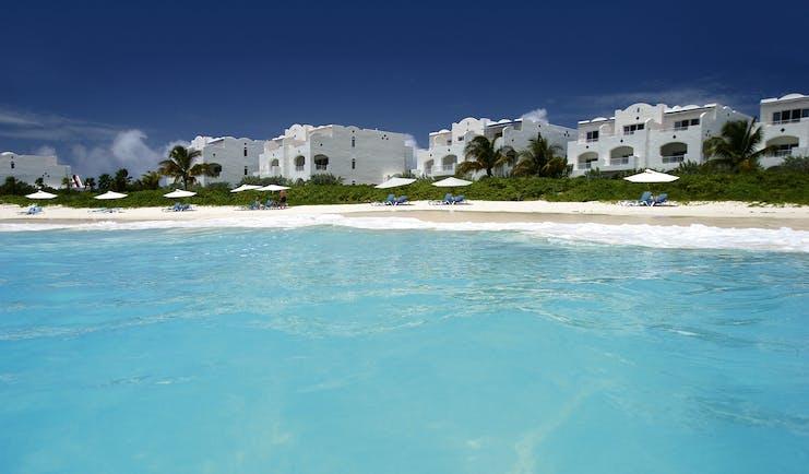 Cuisinart Anguilla villas overlooking beach