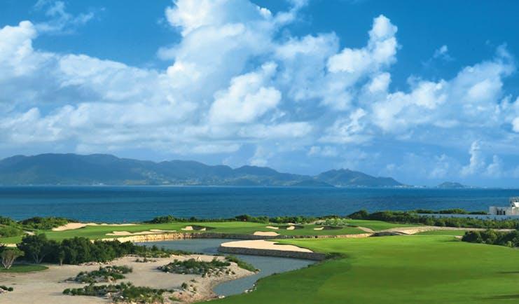 Cuisinart Anguilla golf course overlooking ocean