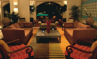 Cuisinart Anguilla lounge area with sofas and armchairs