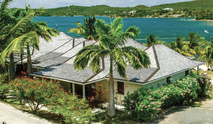 Nonsuch Bay Antigua beach cottage exterior overlooking ocean