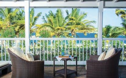 Nonsuch Bay Antigua premium beach suite terrace overlooking beach