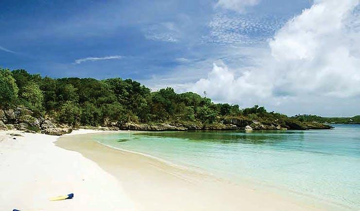 Nonsuch Bay Antigua beach sandy beach ocean