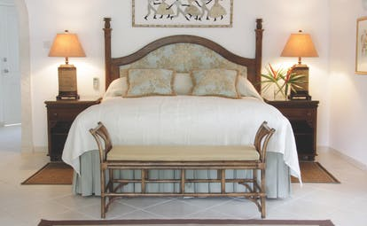Coral Reef Club Barbados suite bedroom