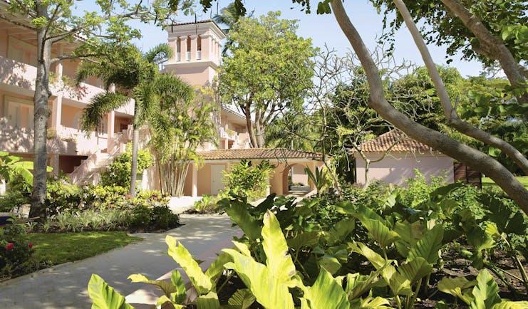 Fairmont Royal Pavilion Barbados main building and gardens