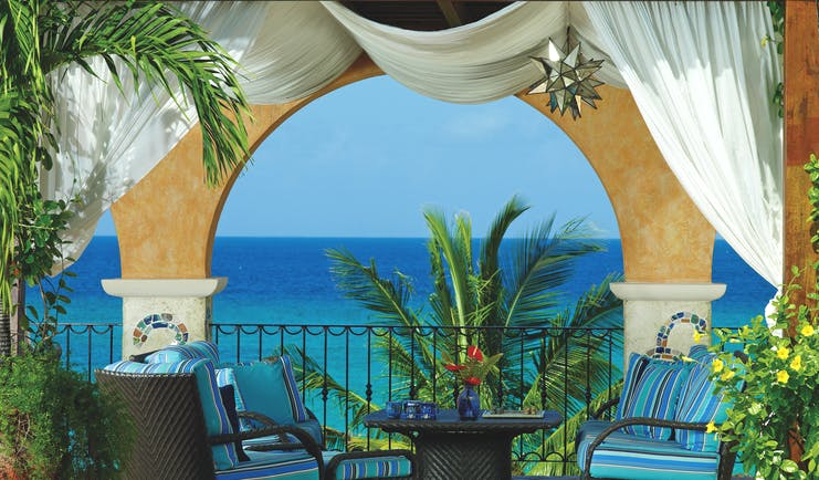 Little Arches Barbados pool deck lounge views of ocean