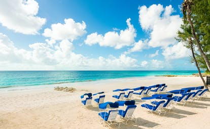 Sea Breeze Barbados beach and sun loungers