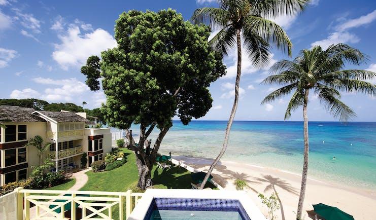 Treasure Beach Barbados pool overlooking the beach