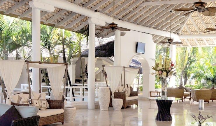 Turtle Beach Barbados hotel lobby indoor seating