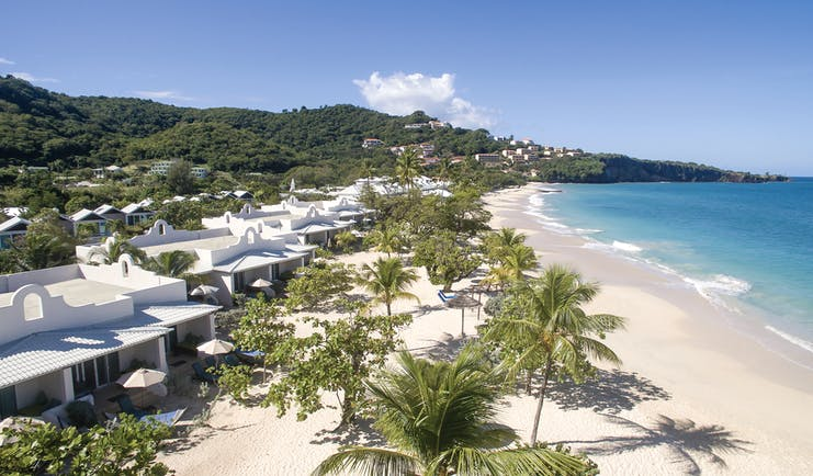 Spice Island Grenada beach palm trees