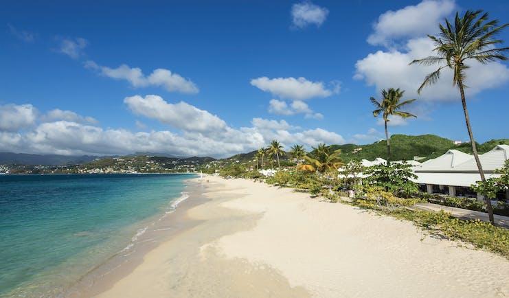Spice Island Grenada view of resort and beach