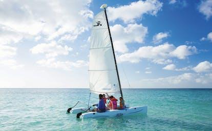 Spice Island Grenada sailing boat on the sea family sailing