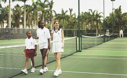 Half Moon Jamaica family tennis large tennis courts