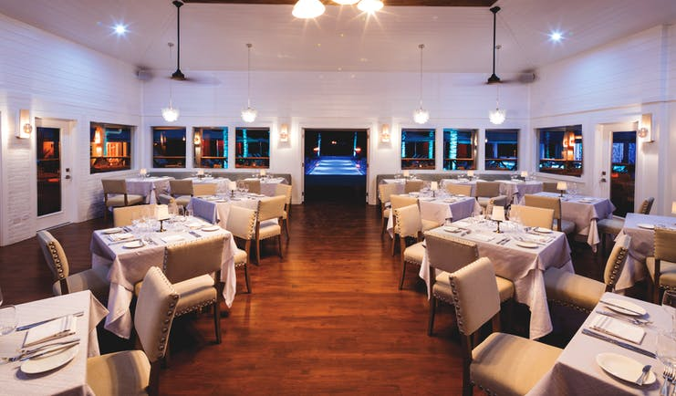 Serenity Coconut Bay St Lucia Great House bar indoor dining