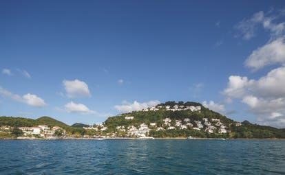 Windjammer Landing St Lucia view of island from the sea
