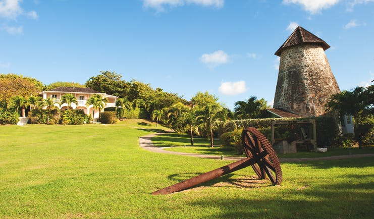 Cotton House St Vincent and the Grenadines grounds historic plantation