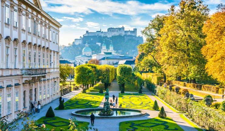 Austria Mirabelle gardens Salzburg