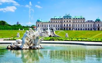 Austria Schoenbrunn Palace Vienna