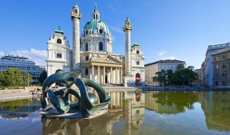 Austria Vienna Karlskirche