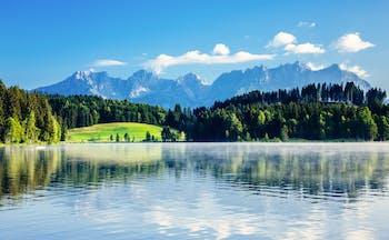 Austria Wiler Kaiser mountains