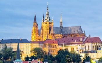 Prague historic buildings