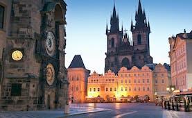 Prague Old Town Square at night