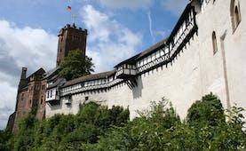 Wartburg mediaeval castle in Thuringia