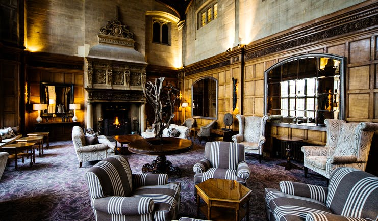 Bovey Castle Devon lounge
