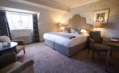 Bovey Castle Devon superior castle room