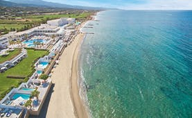 Grecotel White Palace sandy beach