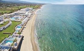 Grecotel White Palace sandy beach