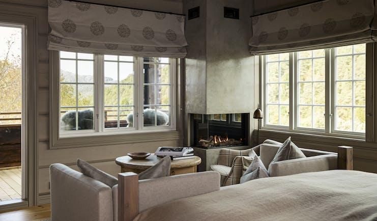 Storfjord Hotel room with balcony