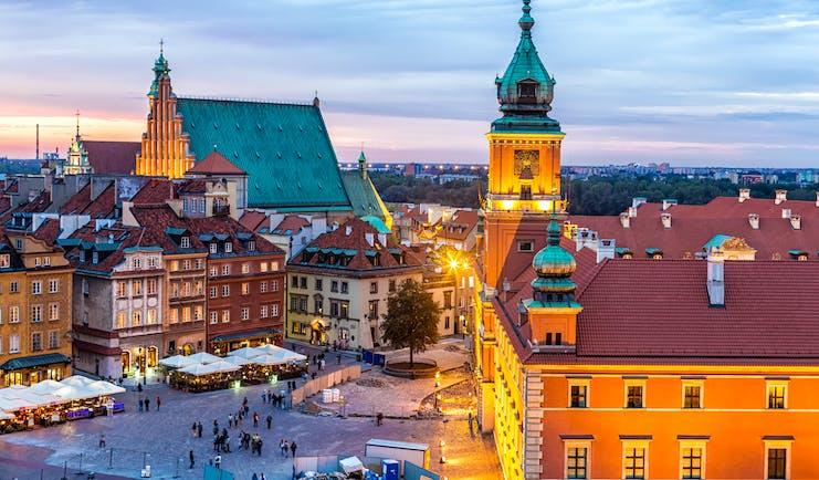 Poland Warsaw old town