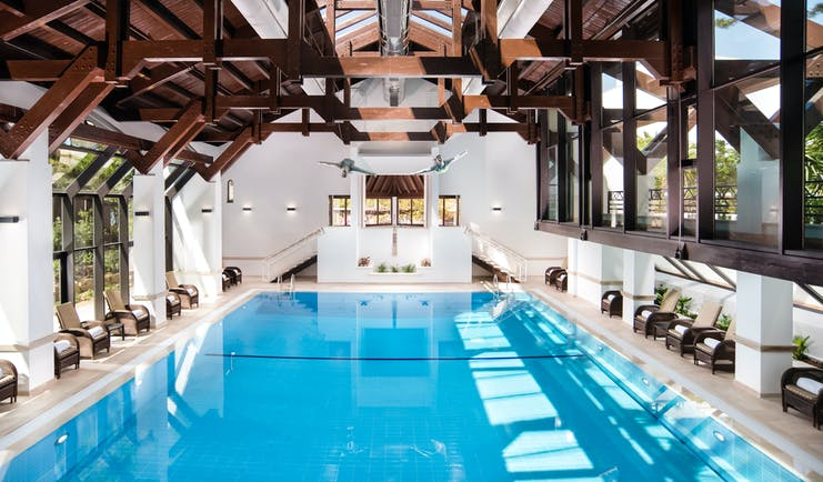 Pine Cliffs Hotel Portugal indoor pool