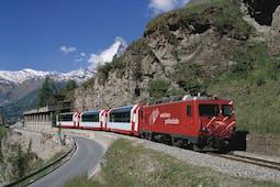 Rail holidays to Switzerland