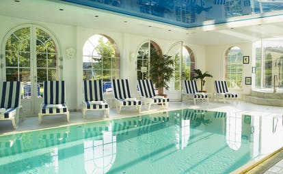Chateau d'Isenbourg indoor swimming pool